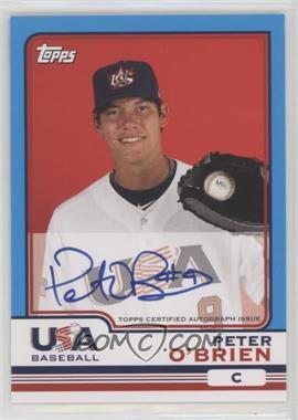 2010 Topps Chrome - Team USA Autographs #USA-15 - Peter O'Brien