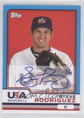 2010 Topps Chrome - Team USA Autographs #USA-19 - Steven Rodriguez