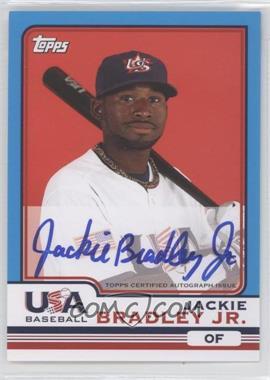 2010 Topps Chrome - Team USA Autographs #USA-3 - Jackie Bradley Jr.