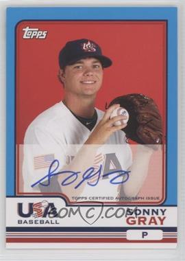 2010 Topps Chrome - Team USA Autographs #USA-8 - Sonny Gray