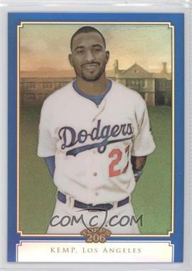 2010 Topps Chrome - Topps 206 Chrome - Blue Refractor #TC13 - Matt Kemp /199