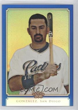 2010 Topps Chrome - Topps 206 Chrome - Blue Refractor #TC9 - Adrian Gonzalez /199