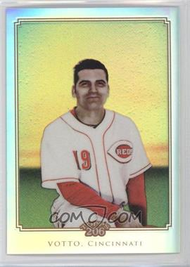 2010 Topps Chrome - Topps 206 Chrome - Refractor #TC18 - Joey Votto /499