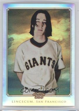 2010 Topps Chrome - Topps 206 Chrome - Refractor #TC46 - Tim Lincecum /499