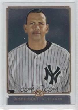 2010 Topps Chrome - Topps 206 Chrome #TC20 - Alex Rodriguez /999