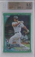 Giancarlo Stanton (Called Mike on Card) [BGS9.5GEMMINT] #/599