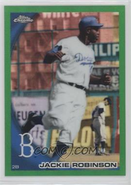 2010 Topps Chrome - Wrapper Redemption [Base] - Green Refractor #224 - Jackie Robinson /599