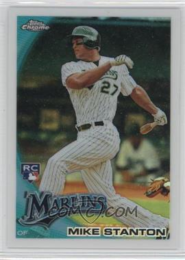 2010 Topps Chrome - Wrapper Redemption [Base] - Refractor #190 - Mike Stanton