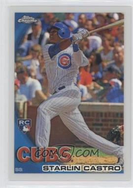 2010 Topps Chrome - Wrapper Redemption [Base] - Refractor #195 - Starlin Castro