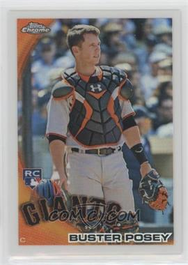 2010 Topps Chrome - Wrapper Redemption [Base] - Refractor #221 - Buster Posey