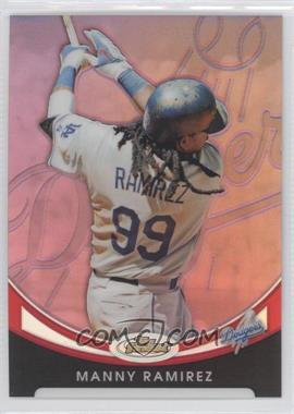 2010 Topps Finest - [Base] - Red Refractor #37 - Manny Ramirez /25