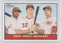 Juan Francisco, Jay Bruce, Joey Votto