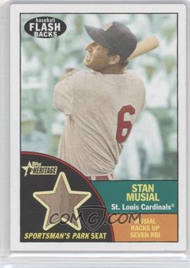 2010 Topps Heritage - Baseball Flashbacks Stadium Relics #FSR-SM - Stan Musial