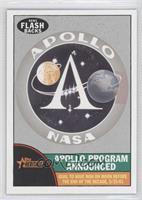Apollo Program Announced