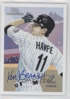 2010 Topps National Chicle - [Base] - Artist Proof Artist Autograph [Autographed] #15 - Brad Hawpe (Ken Branch) /10
