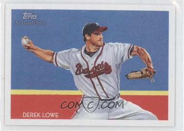 2010 Topps National Chicle - [Base] - Black Umbrella Logo Back #154 - Derek Lowe /25