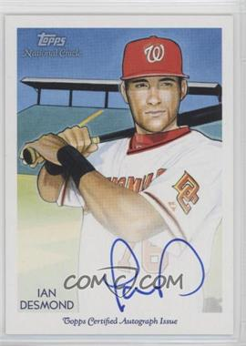 2010 Topps National Chicle - Certified Autograph - [Autographed] #NCA-ID - Ian Desmond