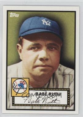 2010 Topps New York Yankees 27 World Series Titles - [Base] #YC1 - Babe Ruth