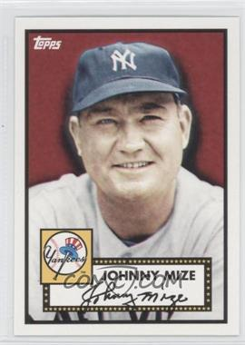 2010 Topps New York Yankees 27 World Series Titles - [Base] #YC12 - Johnny Mize