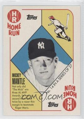 2010 Topps New York Yankees 27 World Series Titles - [Base] #YC14 - Mickey Mantle
