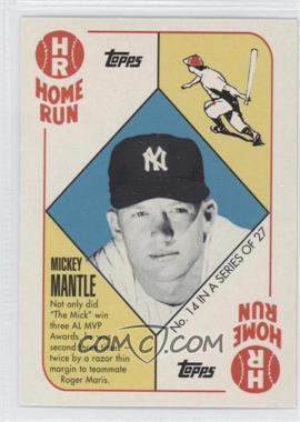 2010 Topps New York Yankees 27 World Series Titles - [Base] #YC14 - Mickey Mantle