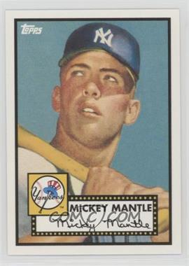 2010 Topps New York Yankees 27 World Series Titles - [Base] #YC15 - Mickey Mantle