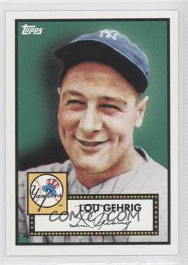 2010 Topps New York Yankees 27 World Series Titles - [Base] #YC2 - Lou Gehrig