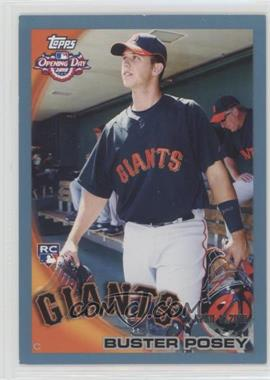 2010 Topps Opening Day - [Base] - Blue #207 - Buster Posey /2010