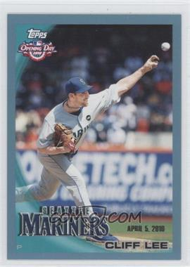2010 Topps Opening Day - [Base] - Blue #59 - Cliff Lee /2010