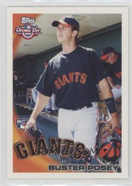 2010 Topps Opening Day - [Base] #207 - Buster Posey