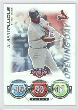 2010 Topps Opening Day - Topps Attax #N/A - Albert Pujols