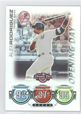 2010 Topps Opening Day - Topps Attax #N/A - Alex Rodriguez