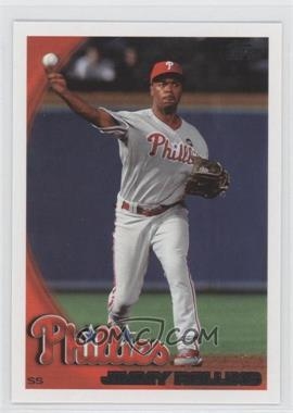2010 Topps Philadelphia Phillies - [Base] #PHI13 - Jimmy Rollins