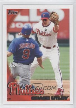 2010 Topps Philadelphia Phillies - [Base] #PHI8 - Chase Utley