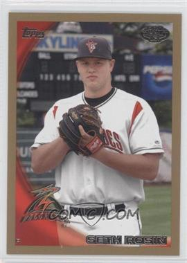 2010 Topps Pro Debut - [Base] - Gold #402 - Seth Rosin /50