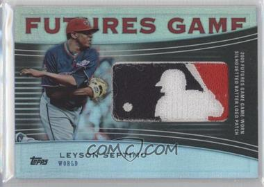 2010 Topps Pro Debut - Futures Game Relics - MLB Logo Patch #FGR-LS - Leyson Septimo /1