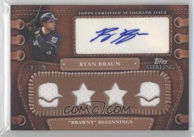 2010 Topps Sterling - [???] #4LLAR-5 - Ryan Braun /10