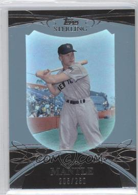 2010 Topps Sterling - [Base] #7 - Mickey Mantle /250