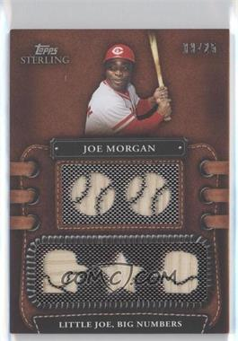 2010 Topps Sterling - Legendary Leather Relics 5 #5LLR-42 - Joe Morgan /25
