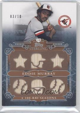 2010 Topps Sterling - Stats Relic #SSR-65 - Eddie Murray /10