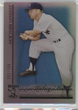 2010 Topps Tribute - [Base] - Blue #50 - Mickey Mantle /399