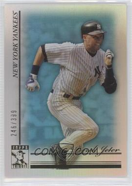 2010 Topps Tribute - [Base] - Blue #75 - Derek Jeter /399