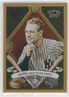 Topps 205 - Lou Gehrig /50