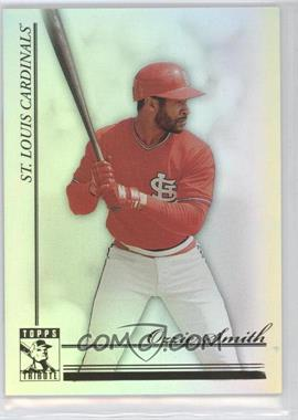 2010 Topps Tribute - [Base] #40 - Ozzie Smith