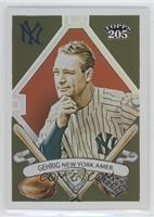 Topps 205 - Lou Gehrig