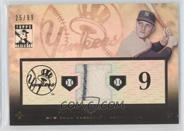 2010 Topps Tribute - Relic #TR-RM - Roger Maris /99