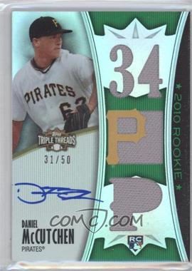 2010 Topps Triple Threads - [Base] - Emerald #155 - Daniel McCutchen /50