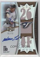 Adam Lind [Noted] #/75