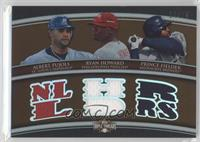 Albert Pujols, Ryan Howard, Prince Fielder /27