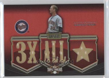2010 Topps Triple Threads - Relics #TTR-117 - Justin Morneau /36